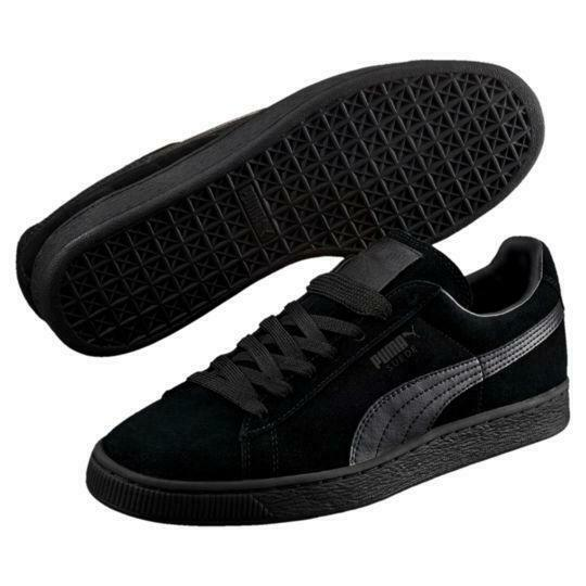 Puma, 356328-01, Suede Classic+ LFS, Black Black Black