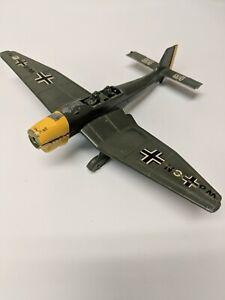 Dinky-Toys-Airplane-Junkers-JU-87-B-No-721-WWII-Germany-Blue-United-Kingdom