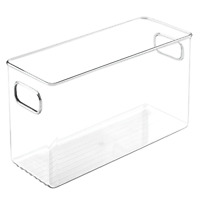 Bathroom Vanity Clear Storage Organizer For Health & Beauty Products Medium