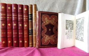 AgréAble Bon Lot De Livres. Histoire Universelle, Enfantina, François Villon