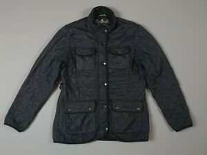 Genuine-Ladies-Quilted-Black-Barbour-Jacket-Size-UK-12-Medium