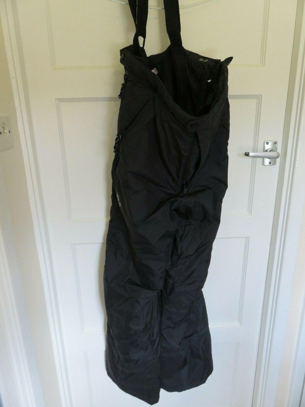 Mountain Equipment Fitzroy Pantalon large schwarz