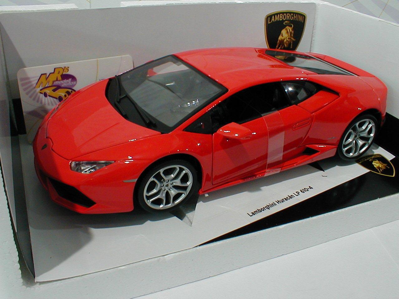Bburago 18-11038R   Lamborghini Hurcan LP 610-4 610-4 610-4 Baujahr 2014 in   rot   1 18 NEU  | Einzigartig  ea2f87