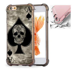 Ace-of-spades-skull-card-Phone-Case-Cover-For-iPhone-X-6-6s-7-8-8Plus-7506