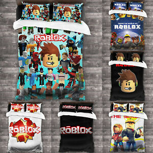 ROBLOX-3PCS-Bedding-Set-Of-Duvet-Cover-amp-Pillowcases-Comforter-Cover-Set-US-Size