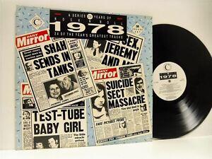 25-YEARS-OF-ROCK-039-N-039-ROLL-1978-various-DOUBLE-LP-EX-EX-YRNR-LP78-vinyl-album