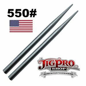 """Lacing 2 Stitching Needles 3 1//2/"""" Stainless Steel 550# Type III Paracord Fid"""