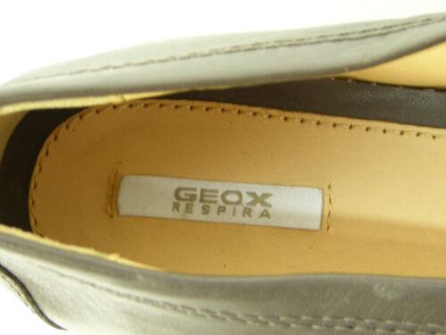 Neu Geox Leder Schuhe 38 amp; Gr Braun 2462 N Echtleder Uwv7qB