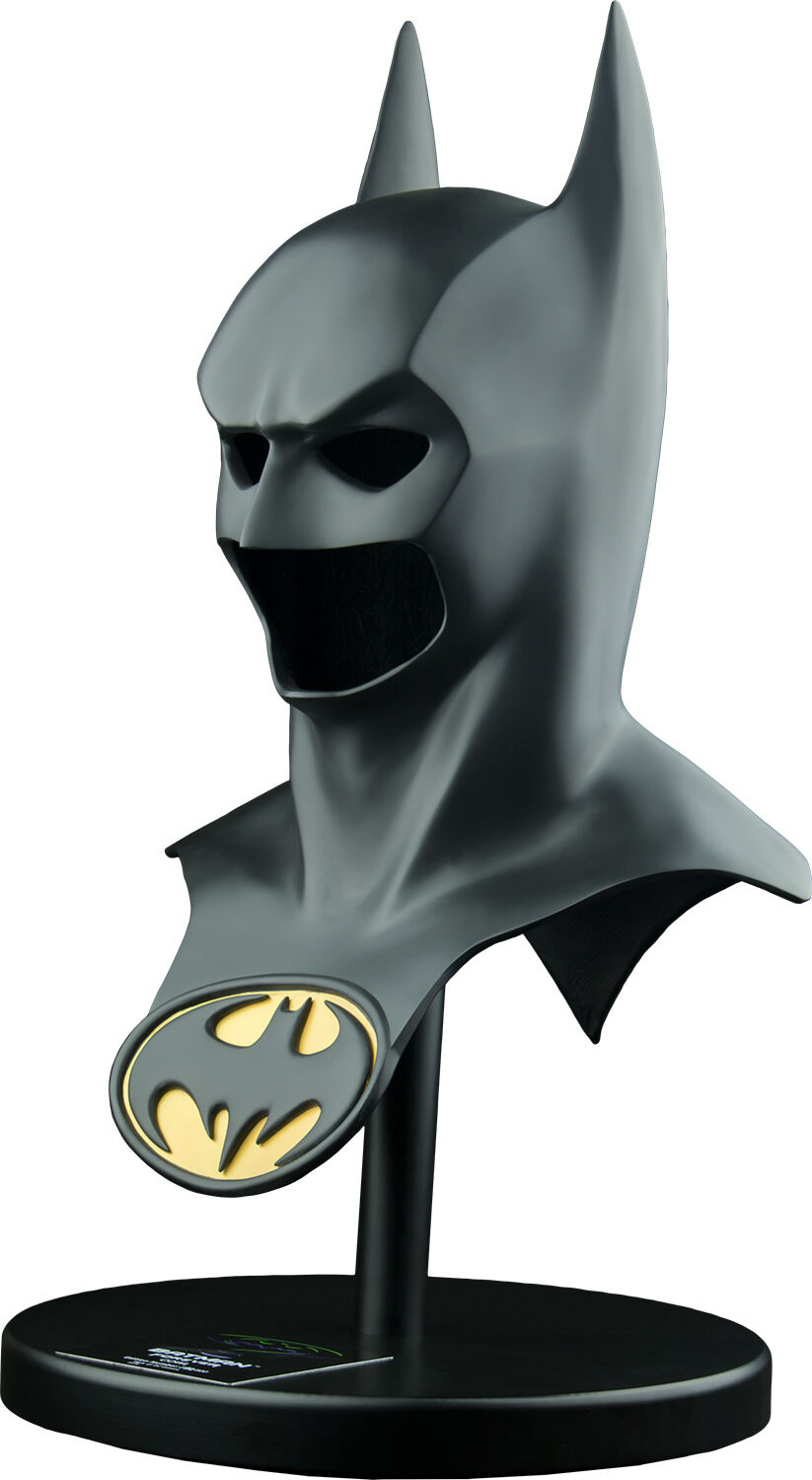 BATMAN - Batman Forever Life-Größe Bat Cowl Replica (HCG / Styles On Video)  NEW