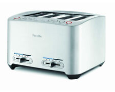 Breville BTA840XL Die Cast 4 Slice Smart Toaster