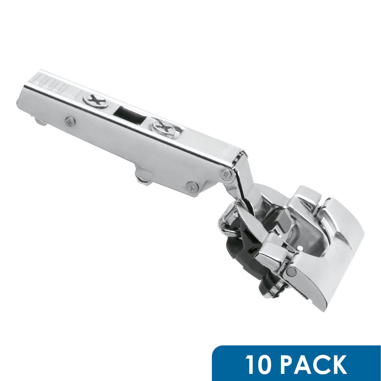 10 Blum 110 Deg Straight Arm Clip Top Cabinet Hinge Soft Close Inserta 71B3590