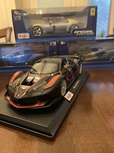 Maisto-Special-Edition-1-18-Escala-De-Fundicion-Vehiculo-Ferrari-fxxk