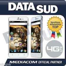 Smartphone MEDIACOM PhonePad Duo X525U 4G LTE SILVER BIANCO M-PPBX525U Dual Sim