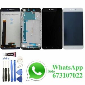 Pantalla-para-Xiaomi-Redmi-Note-5A-Y1-Lite-Con-MARCO-LCD-Tactil-Negra-Blanca