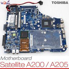 Placa portátil toshiba placa madre Satellite a200 a205-ah3 k000051340 045