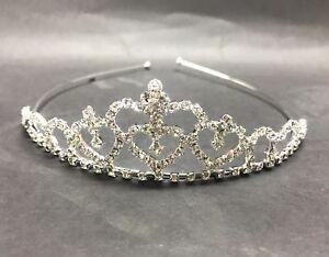 NEW-Womens-Girls-Tiara-Crown-Hair-Band-Headband-Prom-Wedding-Party-Headpiece