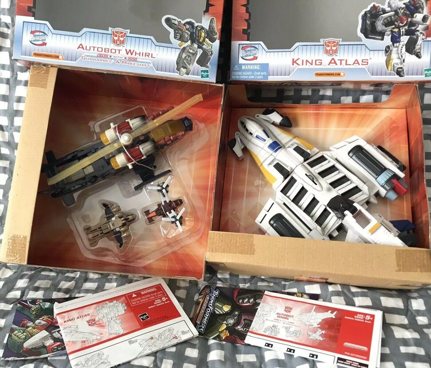 Transformers Universe Ultra Lot King Atlas  G2 Whirl Minicons  EUC JET 100% WFC  le prix le plus bas