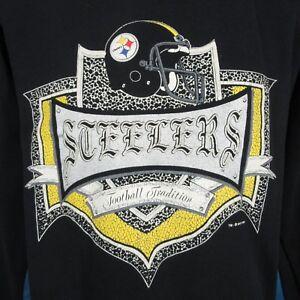 vintage-90s-PITTSBURGH-STEELERS-SWEATSHIRT-T-Shirt-M-football-sweater-hip-hop