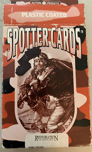 Vtg Complete  Commemorative WW II Plane Spotter Cards For all Card Games 1998
