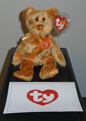 MINT with MINT TAGS TY MC MASTERCARD ANNIVERSARY #2 BEAR with CARD