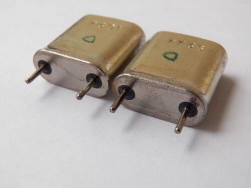 1.024 MHz ex-USSR Vintage Quartz Crystal Resonator QTY=2