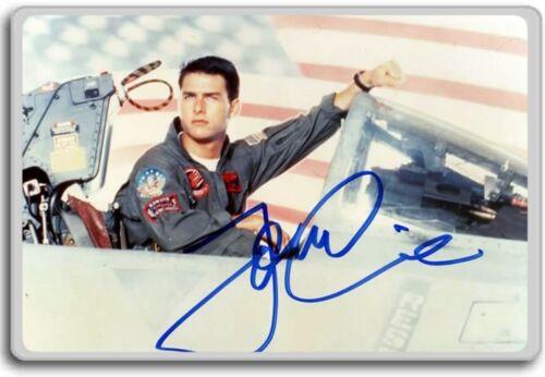 Top Gun Autographed Preprint Signed Photo Fridge Magnet Tom Cruise