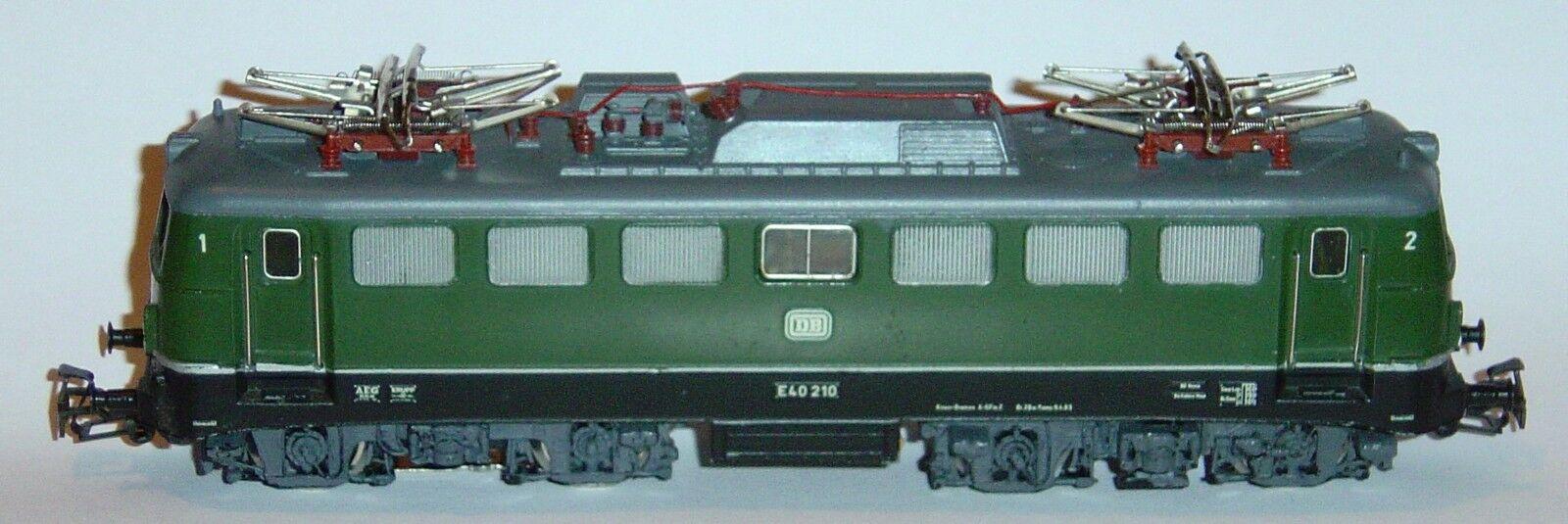 MARKLIN HO, LOCOMOTORA E40 210 DB REF.3040, ¡MOTOR NUEVO 5 POLOS, DIGITAL MFX