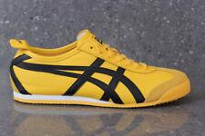 onitsuka tiger mexico 66 yellow black mens trainers azul