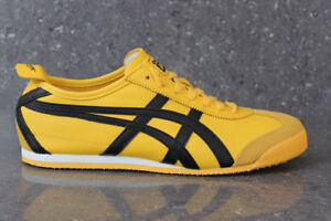 95660b525a13 Image is loading Onitsuka-Tiger-Mexico-66-Trainers-Yellow-Black-Asics-