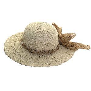NEW WOMENS LADIES CRUSHABLE WIDE BRIM FLOPPY STRAW STYLE SUN HAT ... 943feb79535