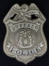 VINTAGE OBSOLETE SPECIAL BUFFALO POLICE NEW YORK Collector's Police Badge
