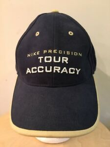 f8afba26490 VINTAGE NIKE Precision Tour Accuracy Golf HAT Dad Strapback Vtg ...