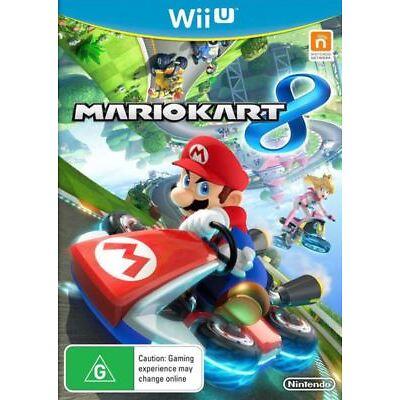 Mario Kart 8 WiiU Nintendo AUSTRALIAN stock Brand New