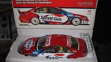1/18 CLASSIC JASON  BARGWANNA #3 2009 VE COMMODORE SPRINT GAS V8 SUPERCAR 18386