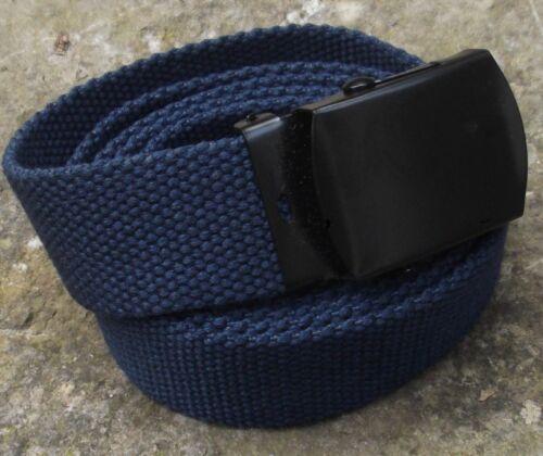 Cintura TESSUTO BLU 3cm larghezza fino a 130cm Lunghezza Pantaloni Cintura Cintura allroundgürtel