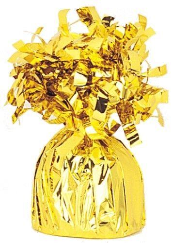 Foil Balloon Weight Gold BALLOON ACCESSORIES PARTY SUPPLIES