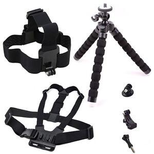 Accessories Set for Gopro Hero 6 5 4 7 SJCAM SJ4000 Xiaomi Yi 4K Action Camera