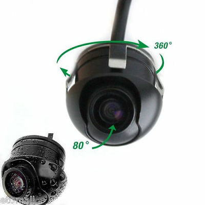 360° CMOS HD Car Front Side Reverse Camera Kits Rear View Parking Color Camera