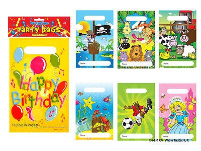 Party Bag Stickers Kids 144 Unicorn Princess Farm Jungle Football Dino ETC