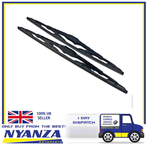2-x-16-Inch-Brand-New-Conventional-Windscreen-Standard-Wiper-Blades