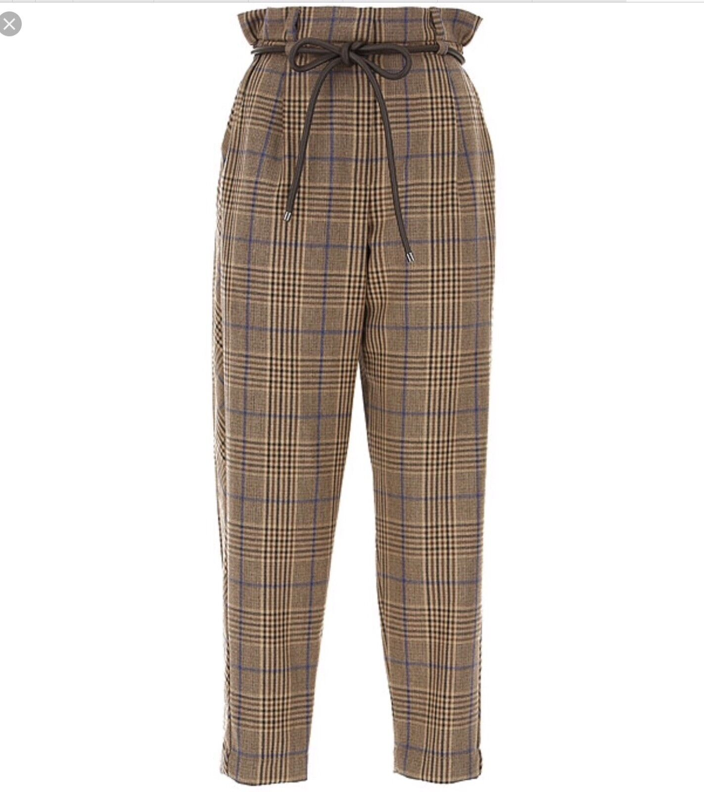 Authentic Brunello Cucinelli  Pants size 6 US 42 IT multicolord mainly brown