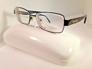 290375c713 Nine West NW1021 Women s Eyeglasses Frame Metal   Plastic Black 52 ...