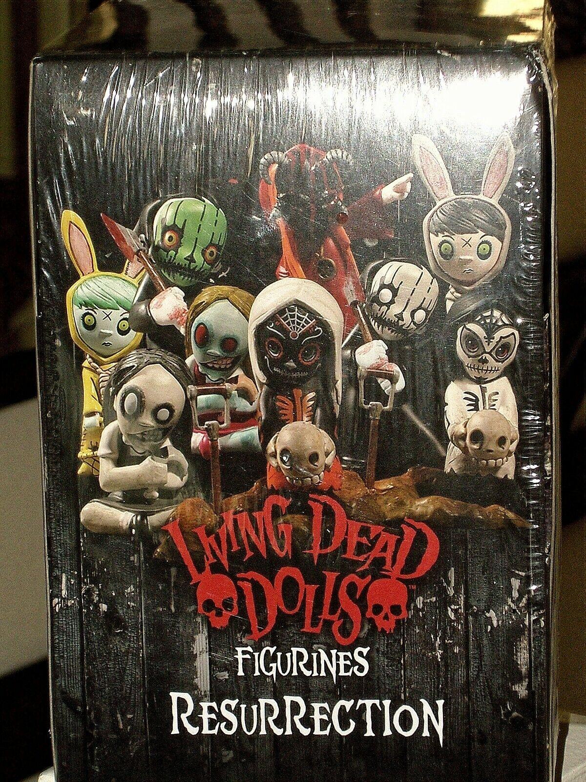 Living Dead Dolls resurrección serie 1 Caja ciego caso de exhibición de 12 figuras