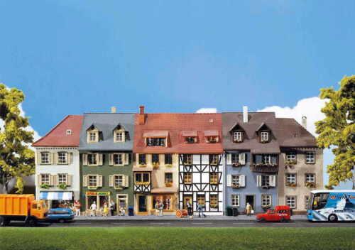 Faller h0 130430 6 relief Maisons Nouveau/Neuf dans sa boîte
