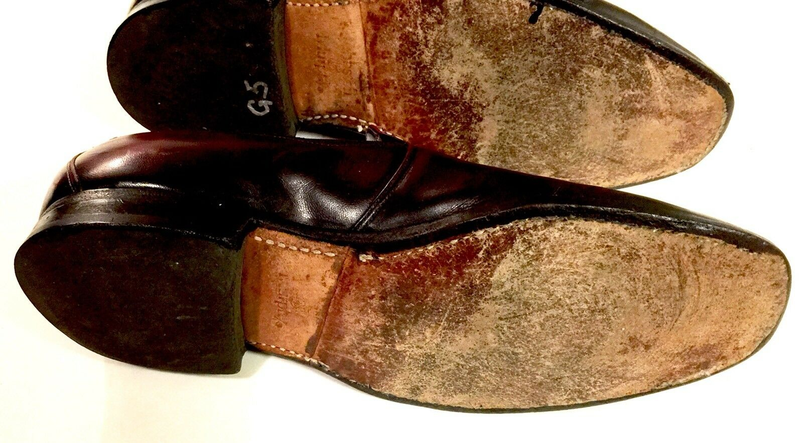 Johnston Murphy Aristocraft Größe Cordavan 7 B Loafers Burgundy Cordavan Größe Tassle USA 7e85ae