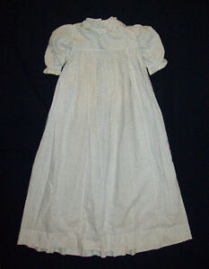 Old-Antique-Vtg-ca-1880s-Toddler-Little-Girls-Dress-Gown-Beautiful-Great-Cond