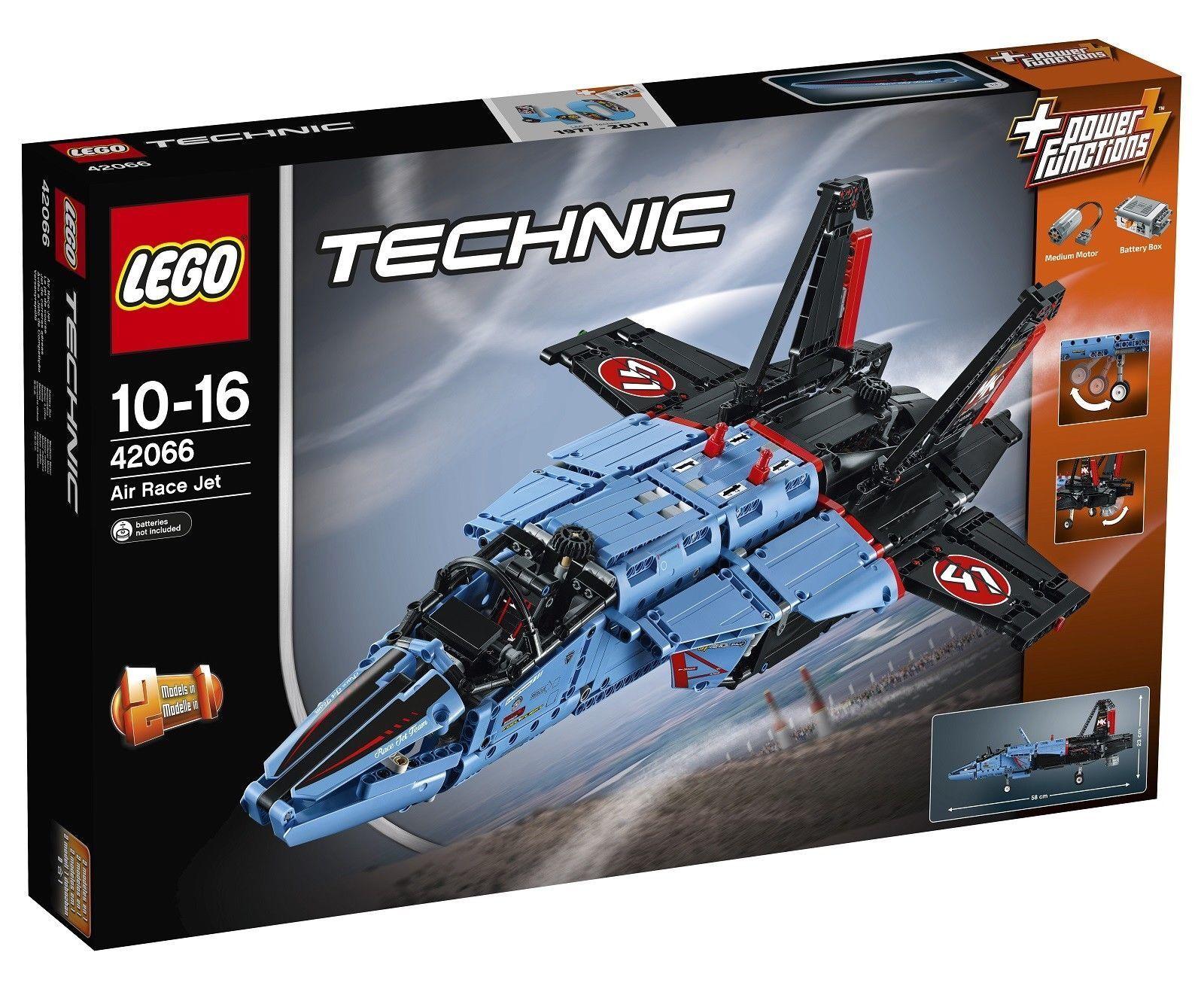 LEGO TECHNIC Air Race Jet 2017 (42066) - Brand New retraité
