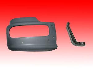 H 385mm Stoßstangenecke//Stoßfänger-Eckteil mit Halter links für Mercedes Atego