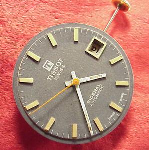 29MM Tissot Sideral Automatik Uhrwerk Armbanduhr Glasfaser Hülle Modell Ca. 1970