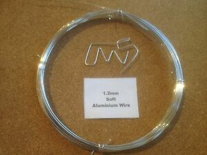 1-2mm-x-10m-18-SWG-SOFT-Aluminium-Wire-Floristry-Craft-Jewellery-Bonsai-Model